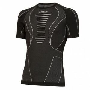 Thermal Sweater X-TECH RACE short Sleeve Black
