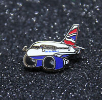 Pin CHUBBY pudgy British Airways BA Airbus A320 1 inch / 27mm metal Pin