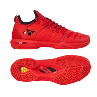 Yonex Power Cushion FUSIONREV 3 Men's Tennis Shoes Red Racquet All Court NWT
