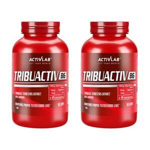 ACTIVLAB Tribuactiv B6 180 Caps TRIBULUS ZINC MAG, ANABOLIC TESTOSTERONE BOOSTER