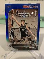 2019-20 Hoops Premium Stock LUKA SAMANIC Rookie RC Blue Prizm SP - San Antonio