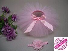 100% HANDMADE Newborn Baby Girl Photography Prop Tutu Skirt Toddler Bow Dress