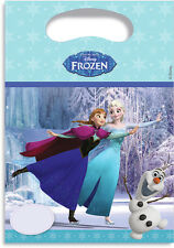 6 Disney Frozen Ice Skating Party Bags Girls Children's Birthday Wedding Favours