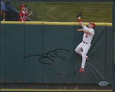Jim Edmonds Robbing HR Autographed 8x10 Steiner COA St. Louis Cardinals