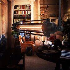 Rétro Vintage Flîte Lustre Suspension Industrial Chaîne Hanging Plafonnier Kitch
