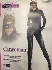 Secret Wishes Catwoman Adult Fancy dress Costume Small