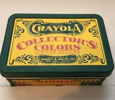 Crayola Crayon Collector's Colors Limited Edition Tin - Binney & Smith Co. 1991