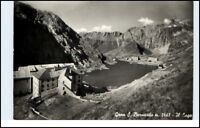 Dolomiti Italien AK Il Lago Gran S. Bernardo Berge 50er