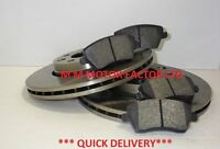RENAULT MODUS 1.1 1.4 1.5 DCi 1.6 (04-10) FRONT 2 BRAKE DISCS AND PADS SET
