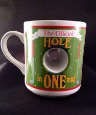 Golf Coffee Cup Mug Hole In One Gift Golfer Golf Club Novelty Papel