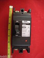 Fuji Auto Circuit Breaker SA52 2 pole 10A 25kA 220V ac 220-240V 10 amp