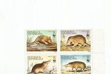 DOMINICAN REPUBLIC WWF RODENT SCOTT 1158 MNH SCV $9