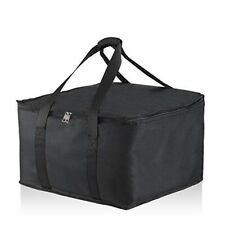 """Food Delivery Insulated Bag 16"""" x 17"""" x 10 1/2''. Premium Food Bag Warmer/Cooler"""