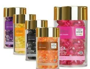BALI Ellips Treatment Hair Vitamin oil range, variety avail. 50pcs&gift FREEPOST