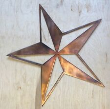Star Wall Metal Art Hanging with Rustic Copper Finish