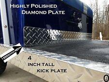 Yamaha G1 Golf Cart Highly Polished Aluminum Diamond Plate KICK plate