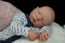 HANDSOME REBORN LILLY LAURENS - BABY BOY DOLL - NUBORNZ NURSERY - PAINTED HAIR