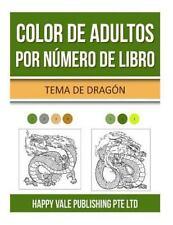 Color de Adultos Por Número de Libro : Tema de Dragón by Happy Vale...