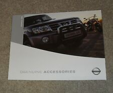 Nissan Patrol GR Accessories Brochure 2003