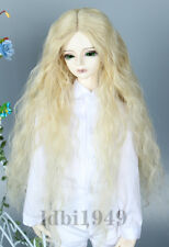 "1/6 6-7"" Dal BJD Wig SD LUTS DD Dollfie Doll Wig Curly Blonde wig 1"