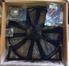 Triumph Stag Revotec electric cooling fan kit with mounting brakets