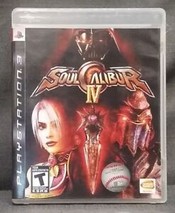 Soul Calibur IV (Sony PlayStation 3, 2008) PS3 Video Game