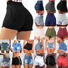 Fashion Women's Summer High Waist Shorts Jeans Denim Ripped Destroyed Hot Pants