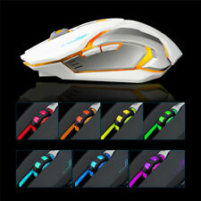 Rechargeable X7 Wireless USB LED Backlit Silent Optical Ergonomic Gaming Mouse