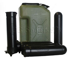 Paintball Jerry Can shaped Paintball Caddy with 5 140 Round pods &1 Ball Hauler