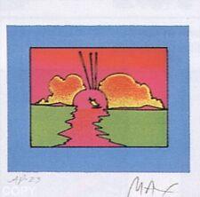 "Peter Max    ""Little Boat""   MAKE OFFER    DSSTD"
