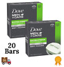 Dove Men+Care Soap Bar Body and Face Extra Fresh 4 oz Value Pack of 20 Bars