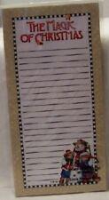 Mary Engelbreit Magic Of Christmas Magnetic Listpad New