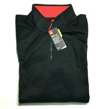 Under Armour Pullover 1/4 Zip ColdGear Reactor Long Sleeve Mens 2XL Fitted Black