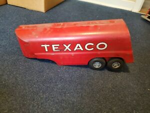 Vintage Texaco Buddy L Large Oil Tanker Truck Toy