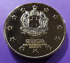 Médaille de table sur l'Europe des 12 (Grèce)