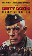THE DIRTY DOZEN: THE NEXT MISSION Movie POSTER 27x40 Lee Marvin Ernest Borgnine