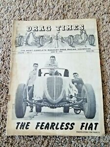 Vintage 1950's Drag Time  Complete Midwest Drag Racing Coverage