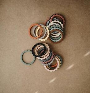 Mushie Flower Teething Bracelet - 3 Pack *New* Free UK P&P*