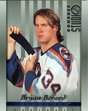 Bryan Berard 1997-98 Donruss Studio '97 Portrait New York Islanders #24 NM 8x10