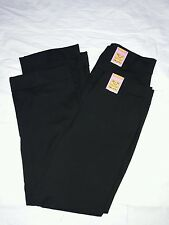 BNWT M&S 2 Pairs Girls Wide Leg black School Trousers Size 10-11 Years