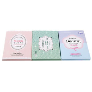 Make Up Oil Control Oil-Absorbing Blotting Facial Face Clean Paper 100 Sheets L