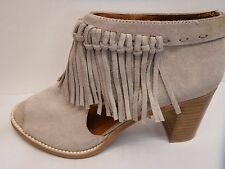Sbicca Size 10 Leather Heeled Sandal Ankle Boots New Womens Shoes
