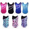Kids Girls One-Piece Ballet Tank Leotard Gymnastics Dance Wear Training Costume