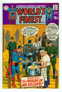 WORLD'S FINEST #192 NM- 9.2 SUPERMAN BATMAN COMIC 1970