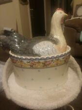 Chicken petite providence 5074 stoneware oven dishwasher and microwave safe