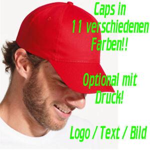 Five-Panel Basecap Cappie Cap Buzz von Sol´s unbedruckt (optional mit Druck) NEU