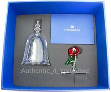 NEW Disney Beauty & the Beast Enchanted Rose Swarovski LE 350 Glass Figurine NIB