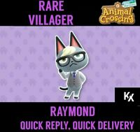 Animal Crossing: New Horizons - RAYMOND (MOVING OUT: NEED A SPOT OPEN ON ISLAND)