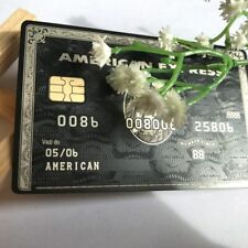 American Express Black Centurion Bank Card customize yourself GREAT GIFT Free