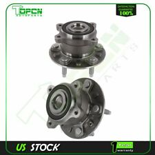 Set Rear Wheel Hub Bearings And Assembly 5 Lugs For Chevrolet Volt Cadillac Elr